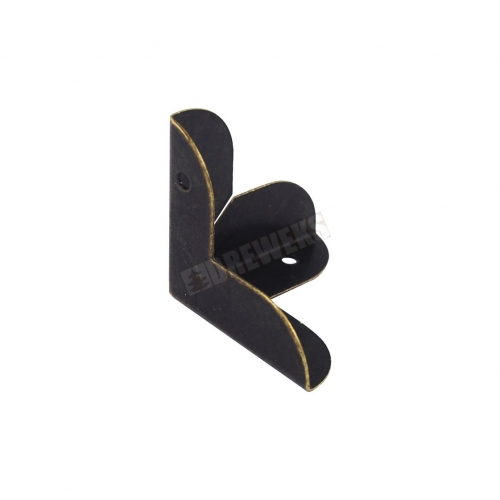 Corner - 2cm dark brass
