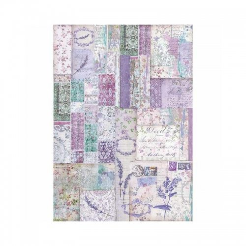 Rice napkin A3 - lavender