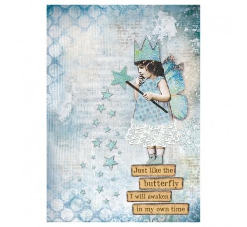 Rice napkin A4 - fairy just like