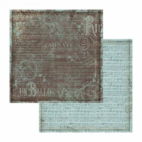 Double-sided scrapbooking paper