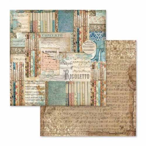 Dwustronny papier do scrapbookingu