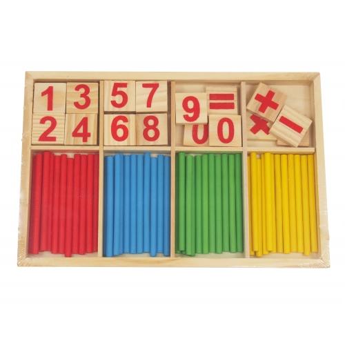 Wooden puzzles, jenga