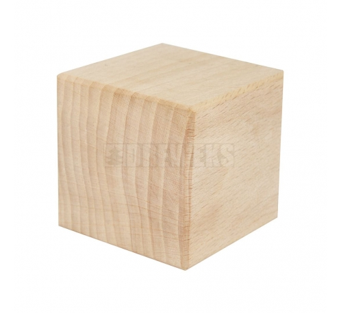 Wooden block, cube