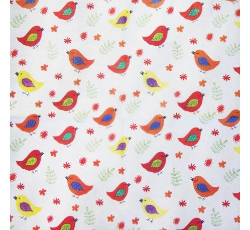Napkin - birds