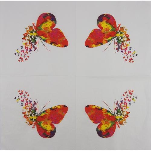 Napkin - butterflies