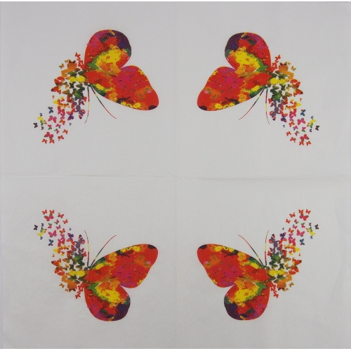 Serwetka - motyle