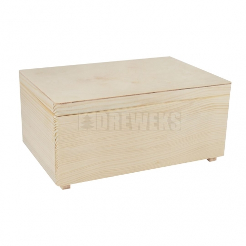 Storage box with lid - small