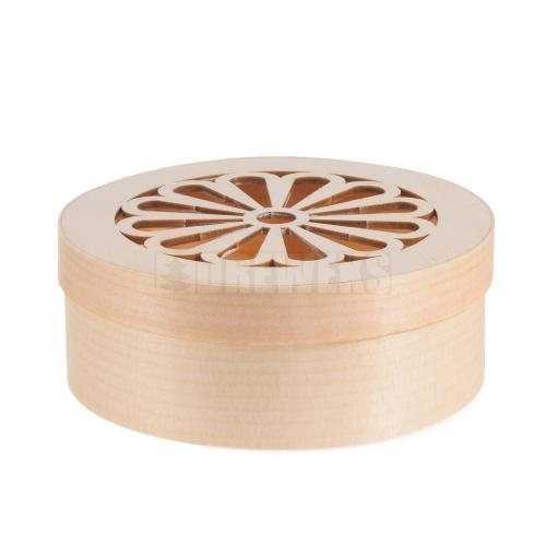 Pojemnik ażurowy okrągły średni