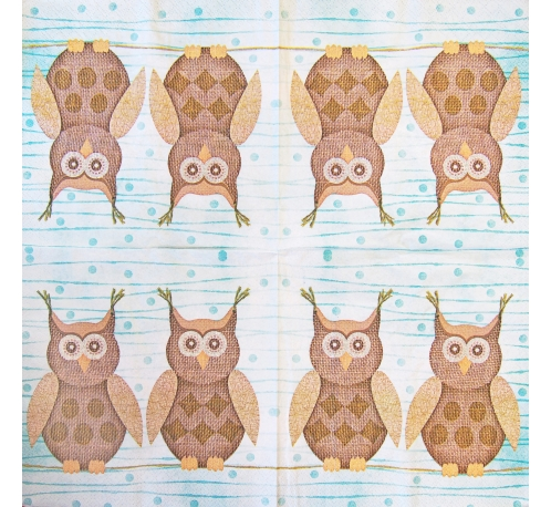 Napkin - owls