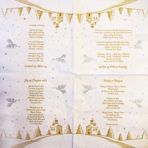 Serwetka - Życzenia Boże Narodzenie