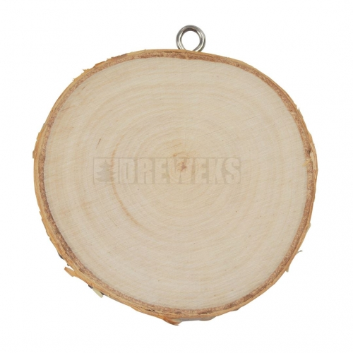 Zawieszka - plaster drewna