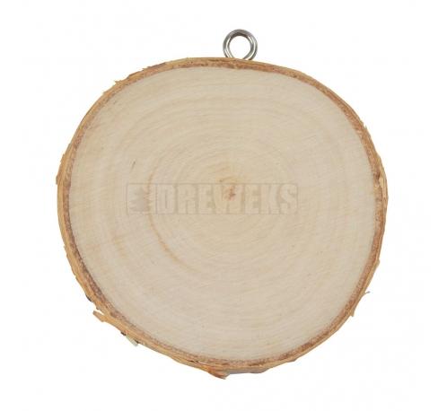 Birch patch pendant