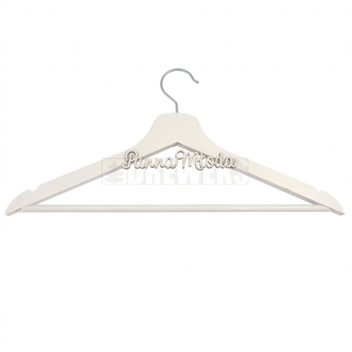 Clothes hanger - white