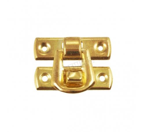 Lock 30x22mm - brass