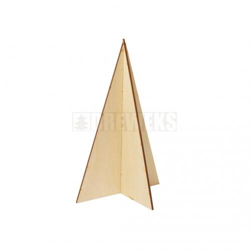 Choinka składana, trójkątna
