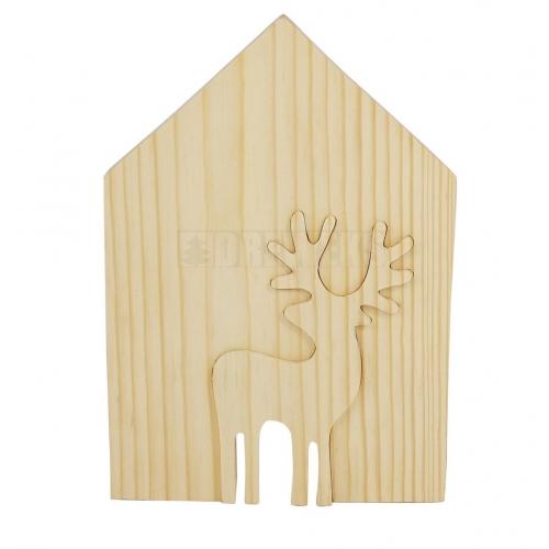 Domek z reniferem