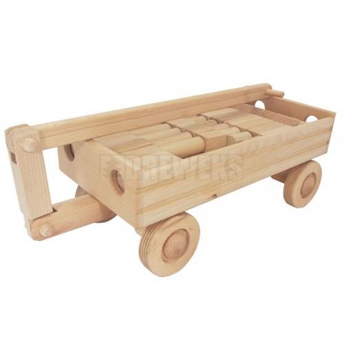 Carriage with blocks