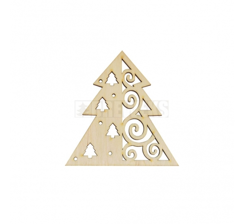 Christmas decoration - a christmas tree