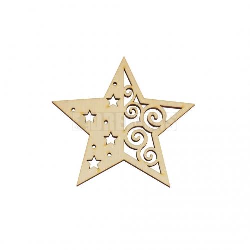 Zawieszka - gwiazda