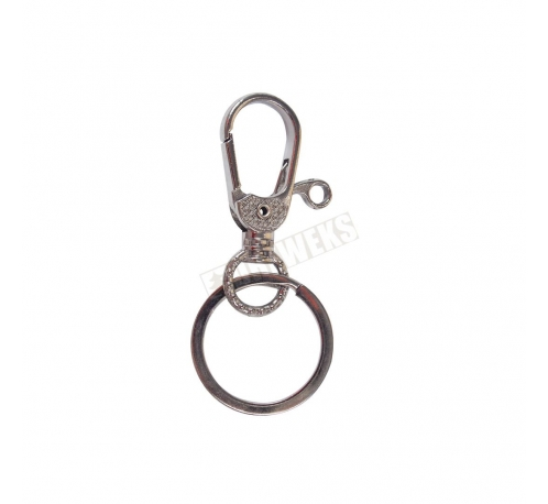 A key chain with clasp