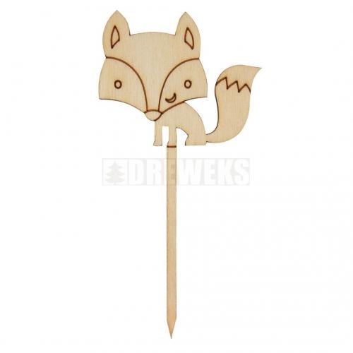 A topper - a fox