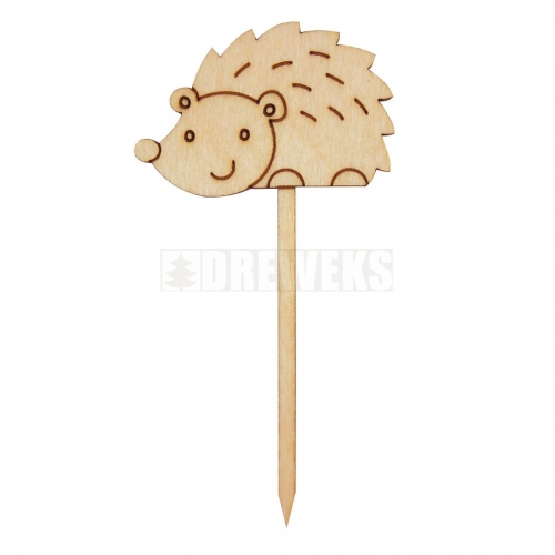 A topper - a hedgehog