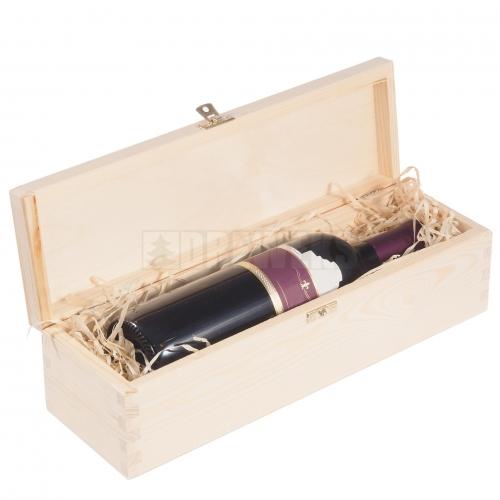 Skrzynka na 1 wino z deklem