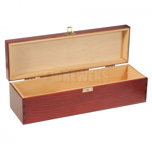 Wine box with lid / color - 1 bottle