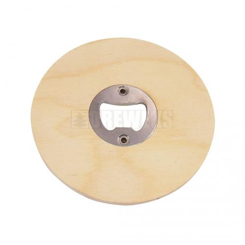 Round bottle opener/ mug mat