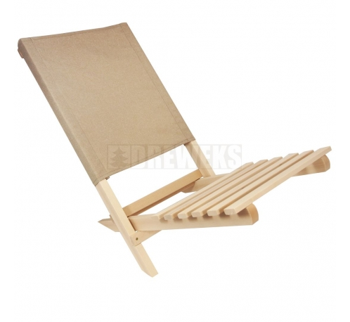 Small folding deckchair