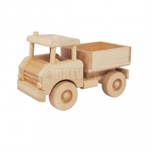 Truck with wood bale / Lorry