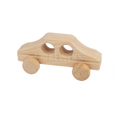 Wooden small car
