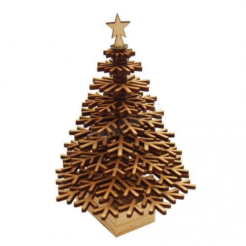 Standing Christmas tree