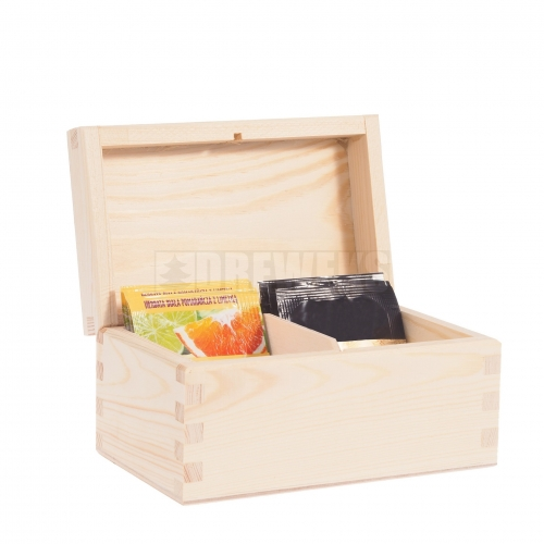 Tea box - 2 compartments