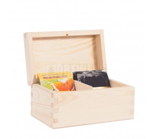 Tea box - 2 compartments