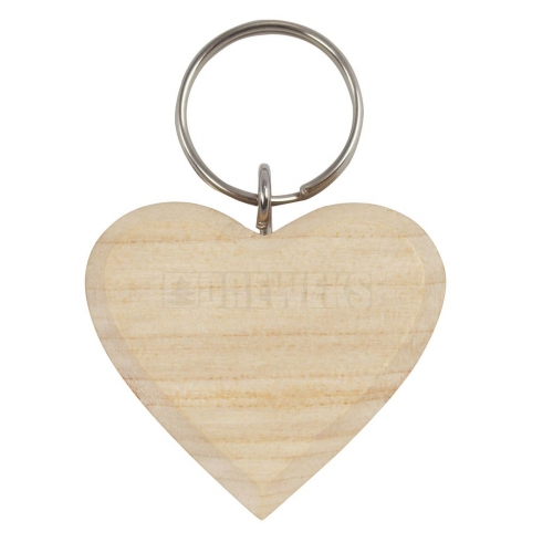 A key chain - heart - 3,5 cm