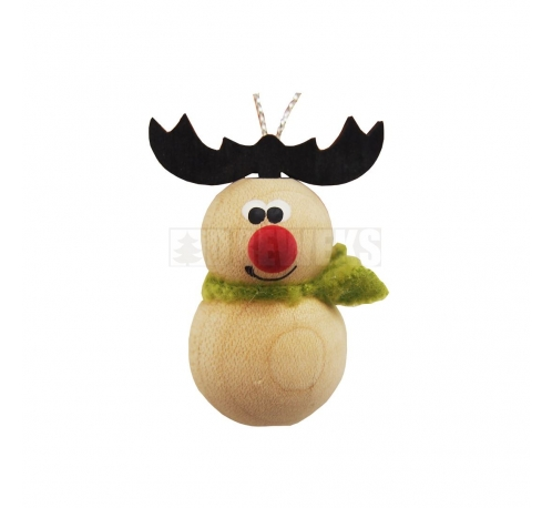 Christmas tree pendant - snowman