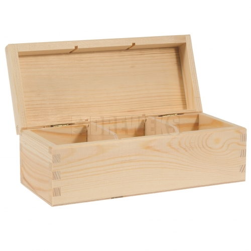 Tea box - 3 compartments