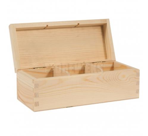 Tea box - 3 compartments