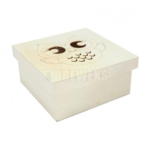 Pudełko / kasetka kwadratowa 3 w 1