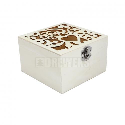 Pudełko / pojemnik kwadratowy 2w1
