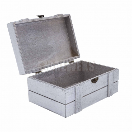 Pudełko / kasetka kwadratowa szara