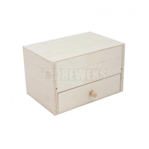 Regalik z szufladką