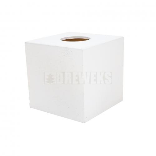 Chustecznik kwadratowy białe