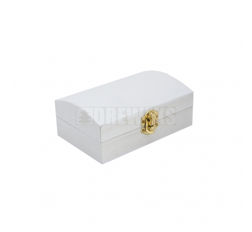White case with a clasp