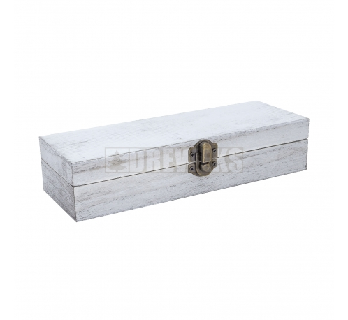 Gray box, case with clasp