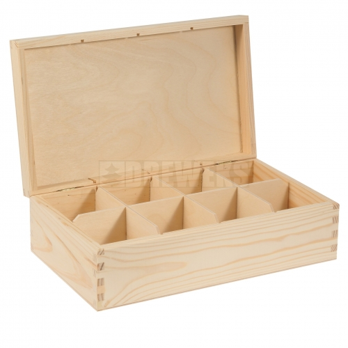 Tea box - 8 compartments