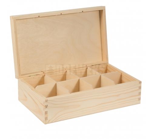 Tea box - 8 compartments