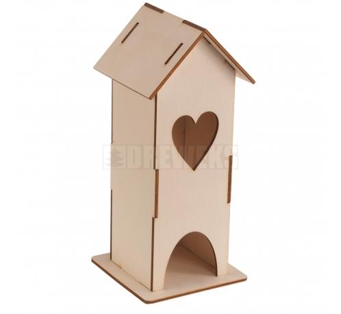 Tea house - with heart
