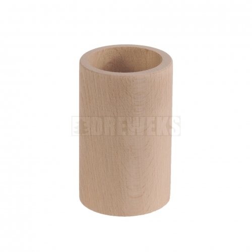 Pencil pot - round/ beech